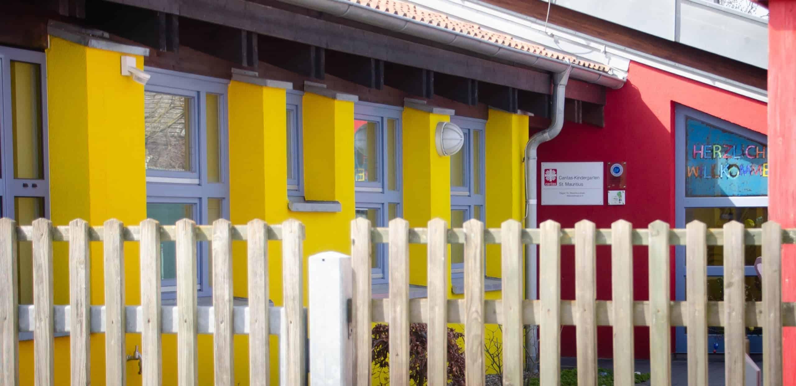 Kath. Kindergarten St. Mauritius in Wiesentheid Eingangsbereich